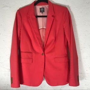 VINCE CAMUTO   hot pink melon blazer SZ 6